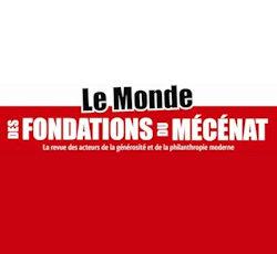 LOGO Monde des Fondations du Mecenat